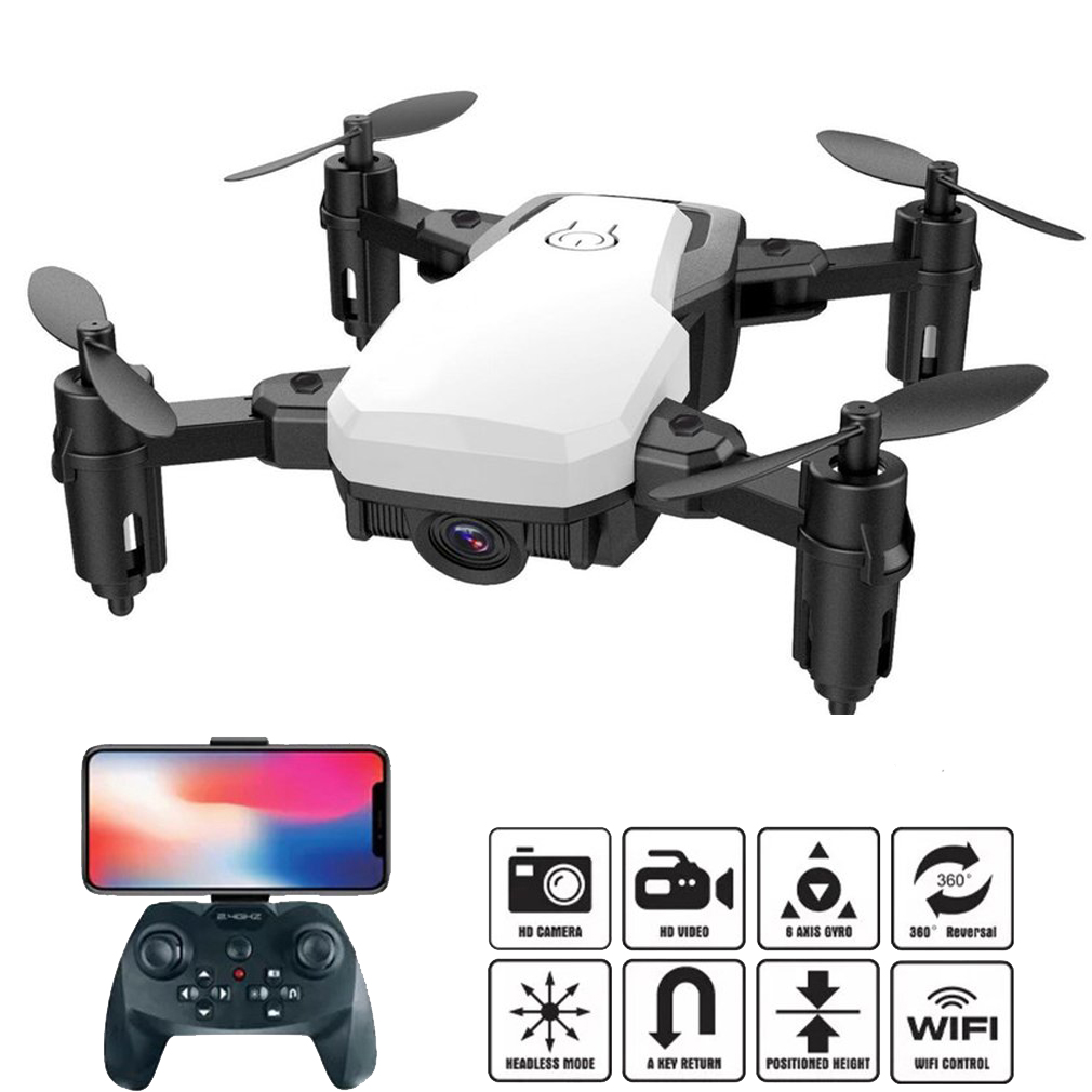 Rc-Drone-Profissional Camera Rc Drone Led-Lights Quadrocopter 4-Channel 1080p Hold-Wifi