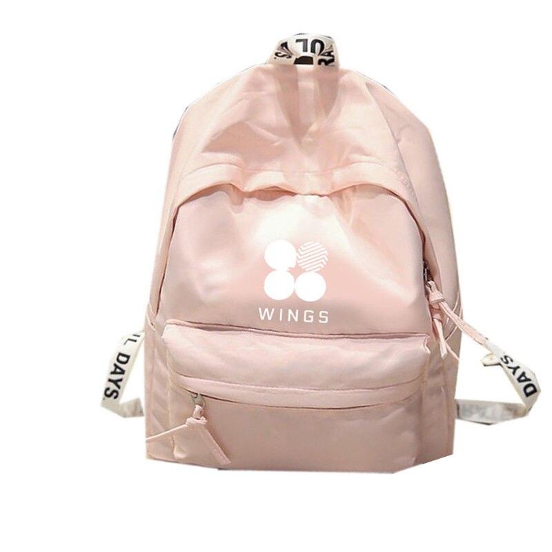 KPOP BTS Backpack Bangtan Boys Shoulder Bookbag Student Back to School Bag 7082917 bangtan boys the best of bts japan edition release date 2017 01 06