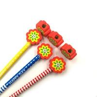 Креативные милые карандашный ластик 5 шт. Мини мультфильм формы карандашный ластик s ручка резиновая для детей подарок Школа Канцтовары, слу...