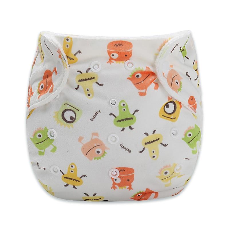 3Pcs/LOT New Baby Pants Diapers Cartoon Diaper Newborn Soft Pad Baby Diapers  suit 9-15k ...