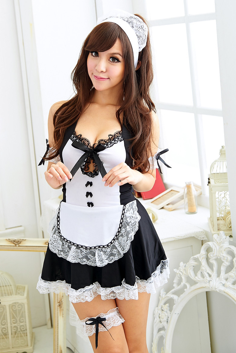 Busty hot maids