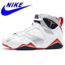new arrival 63f00 30762 Original Nike AIR JORDAN 7 RETRO AJ7 Joe 7 Couple Models Men  s Basketball  Shoes Sneakers 304774 135