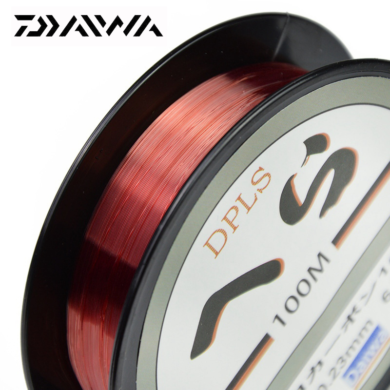 DAIWA 100M super stipri nailono žūklės linija 2LB - 40LB 2 spalvos - Žvejyba - Nuotrauka 5
