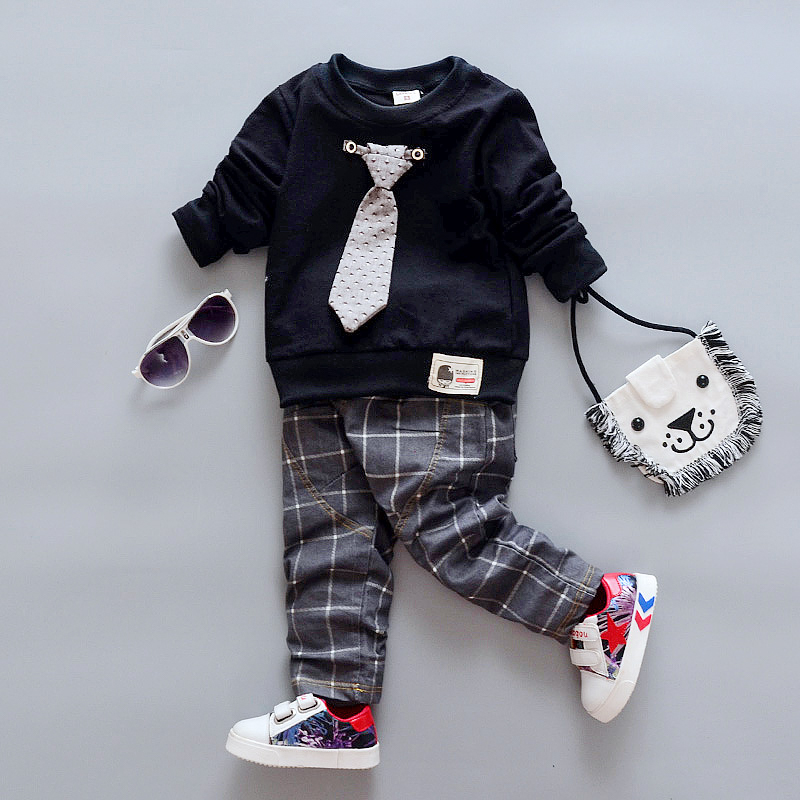 fd14d07a4 BibiCola Baby Boys Clothing Sets Kids Tracksuits Sport Suit Set Casual  Sweatshirts+Pants 2PCS Baby Set For Toddler Boys Clothes-in Clothing Sets  from Mother ...
