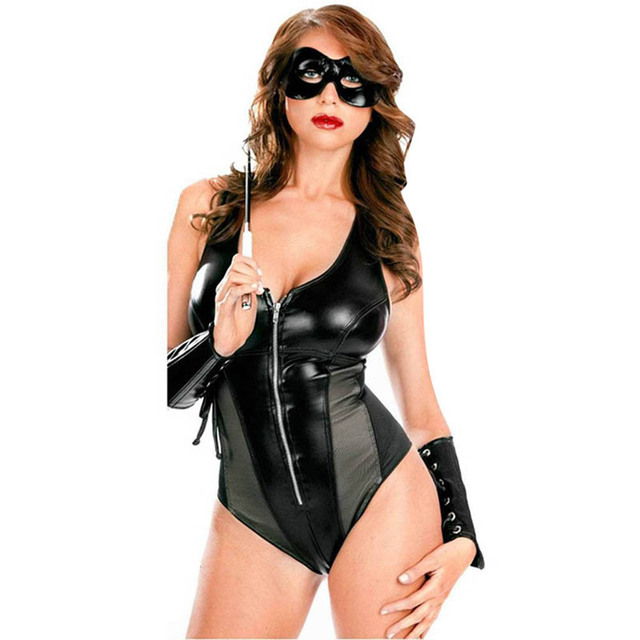 leather fetish gothic sexy wear