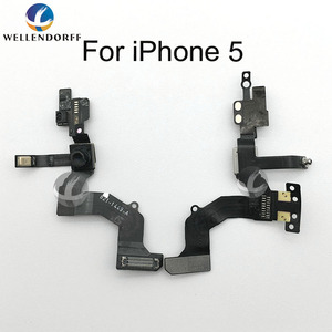 Image 4 - กล้องด้านหน้าขนาดเล็กสำหรับ iPhone 4 4S 5S 5C 6 SE 6 S 7 7P 8 PLUS 8 P X Sensor Light Proximity FLEX CABLE Face ฟรีของขวัญ