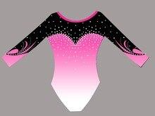 Gros gymnastique justaucorps tissu