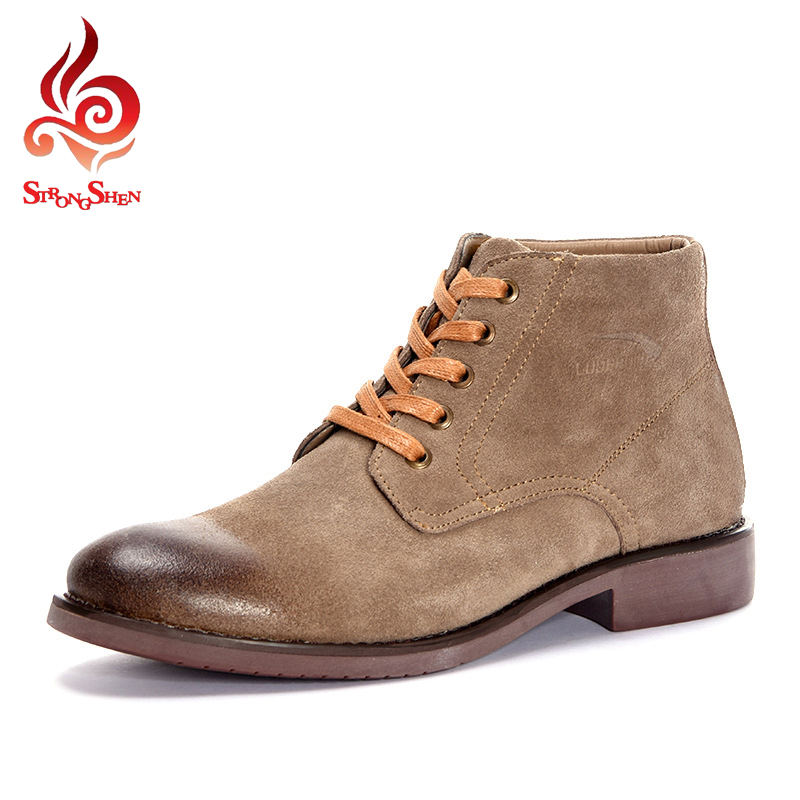 aliexpress buy brand winter boots suede leather
