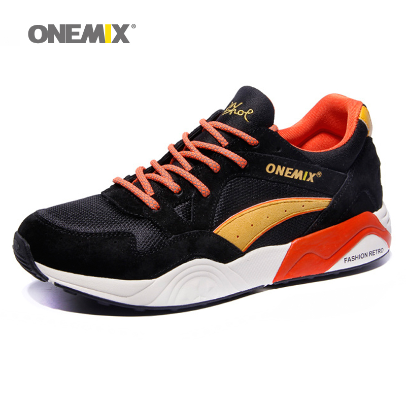 Hot onemix Classic Running Shoes for Men Breathable Walking Outdoor Sneaker men Lady Trainers Prevent Sideslip Nice Sports Shoes