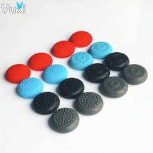 лучшая цена YuXi 8pcs Silicone Joy Con Joystick Stick Grip Cover Case Analog Caps for Nintend Switch NS Joy-Con Controller