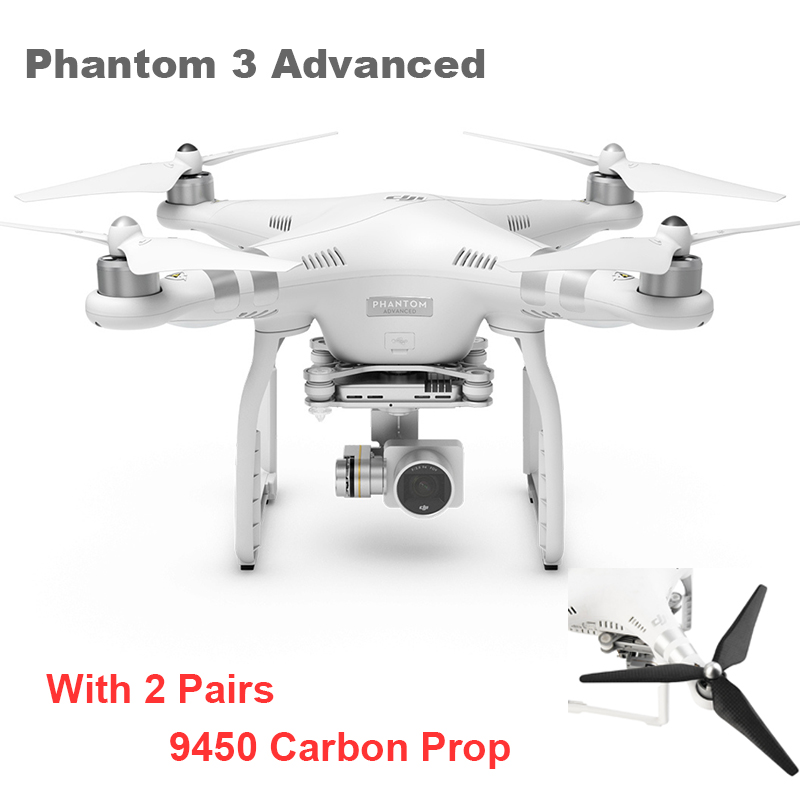 DJI Latest UAV Remote Control Helicopter DJI PHANTOM 3 Advanced Quadcopter FPV RC Helicopter Drone with Camera