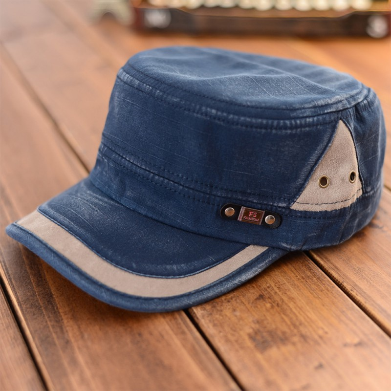 Old Made Army Marking Side Patchwork   Baseball     Cap   Fashion Retro Women Adjustable   Baseball     Cap   Men Sun Hat Women Casual Hat