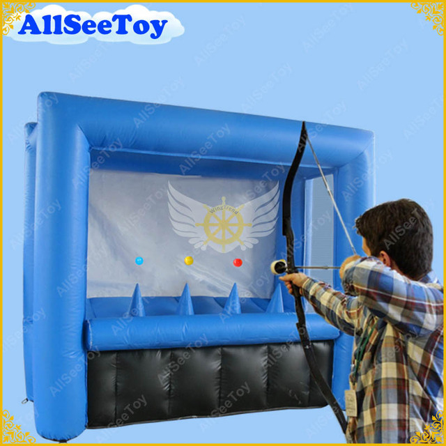 New Archery with Bow and Arrow,Archery Tag Game, Inflatable Archery  Shooting Game,