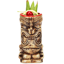 Free Shipping Hawaii Tiki Mugs Cocktail Cup Beer Beverage Mug Wine Mug Ceramic Ku.Ku.Kauioo Mug