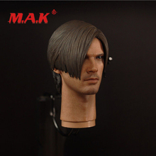 New 1:6 Scale Leon Scott Kennedy Male Head Sculpt Models fit 12