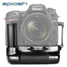 Spash мульти-мощная Вертикальная Батарейная ручка для Nikon D7500 DSLR камеры держатель батареи работает с EN-EL15 профессиональные аксессуары