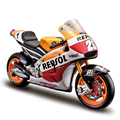 New Maisto motorcycle 1:10 Honda motorcycle model simulation alloy MotoGP racing Honda motor RC213V for children gifts