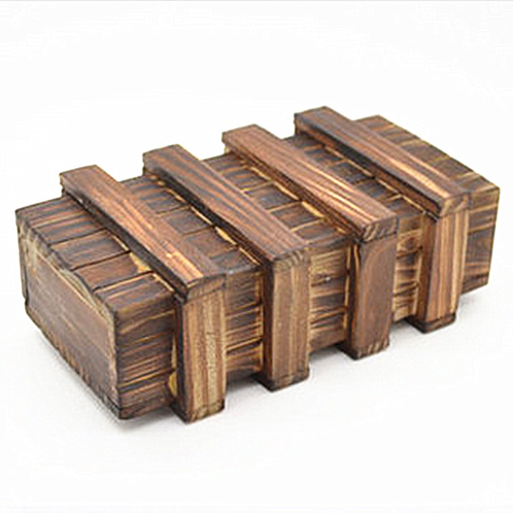 HIINST Best seller DROP ship Intelligence Magic Puzzle Wooden Secret Box Compartment Gift Brain Teaser toy S30 apr25 gift funny