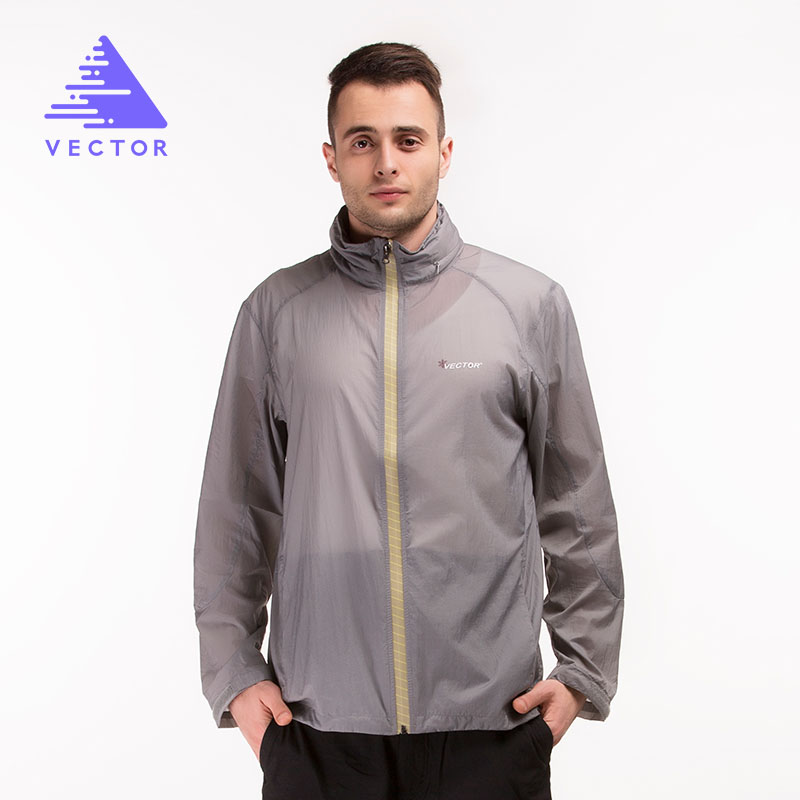 Ultralight Outdoor Jackets Men Sun Protection Compressed Waterproof Jacket Windstopper Running Hiking Jackets 80001
