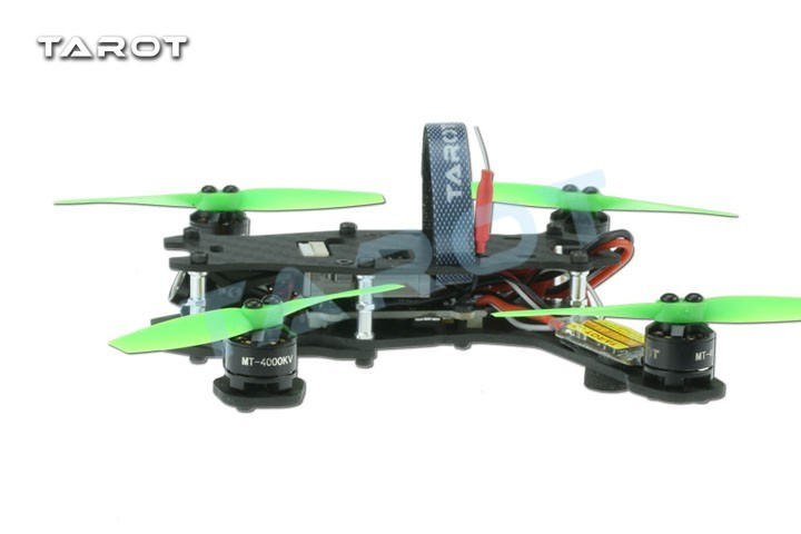 F17840 Tarot TL130H1 RTF Mini Racing Drone Alien 130 Quadcopter Carbon Fiber Frame with Controller Motor ESC Prop FPV Parts frame f3 flight controller 2206 1900kv motor 4050 prop rc fpv drone with camera plane 210 mm carbon fiber mini quadcopter