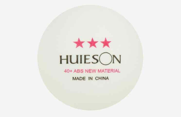 Huieson New material ball 40+ full English 3 star table tennis Training and competition high flexibility table tennis 100pcs/bag