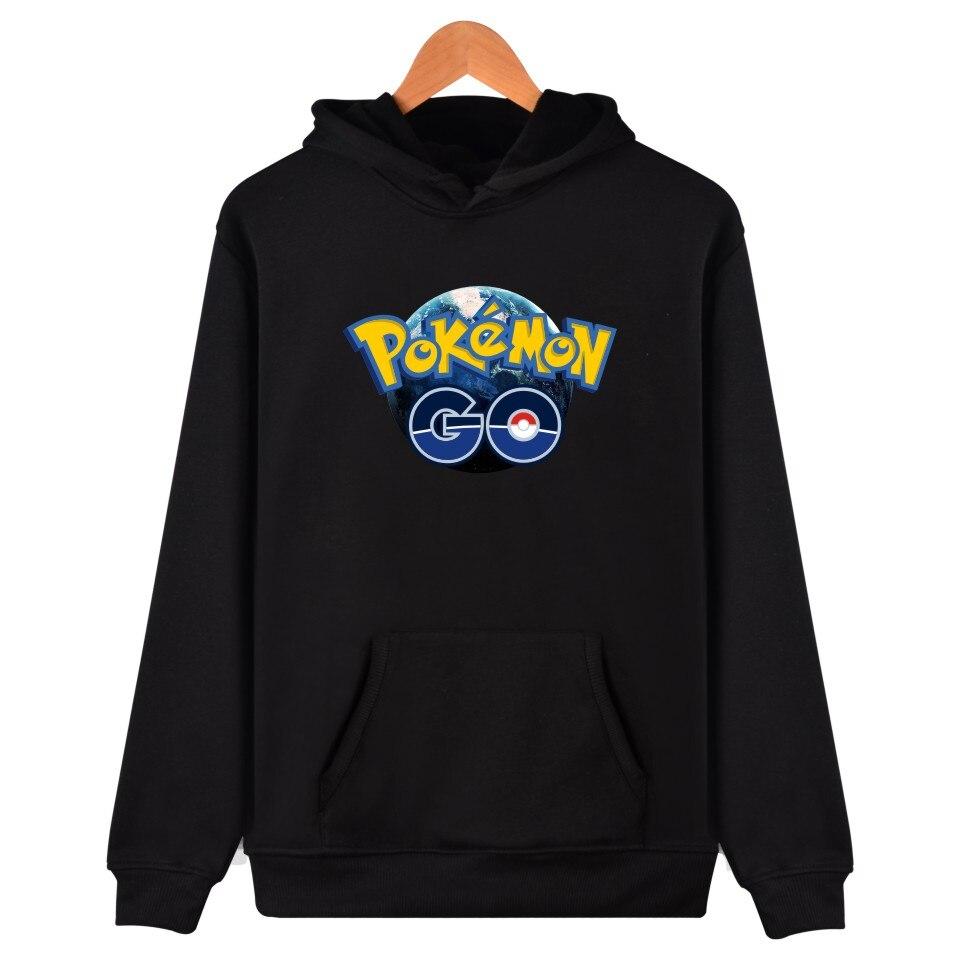 LUCKYFRIDAYF Valor Mystic Instinct Pokemon Go Hoodies Sweatshirt For Men Women Clothing Print Pocket Monster Funny Games Hooded