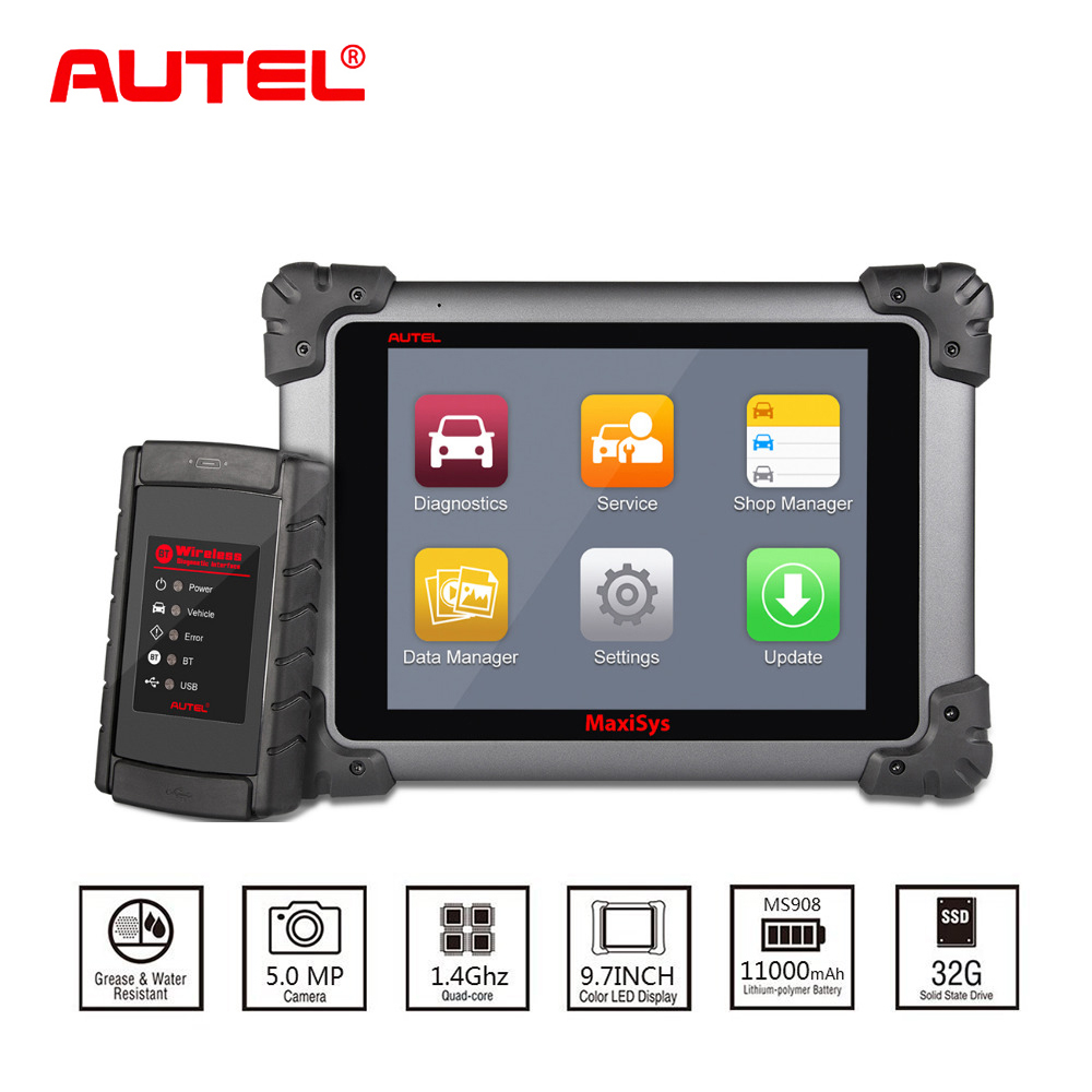Autel Maxisys MS908 Automotive Car Diagnostic Scanner Tool and Analysis System with All Systems Diagnosis and Advanced Coding advanced analysis page 4