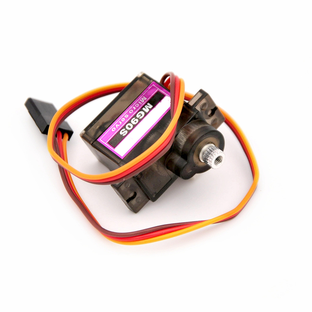 Wholesale 4pcs/Lot MG90S 9g Metal Gear Digital Micro Servos 9g for 450 RC helicopter Plane Boat Car