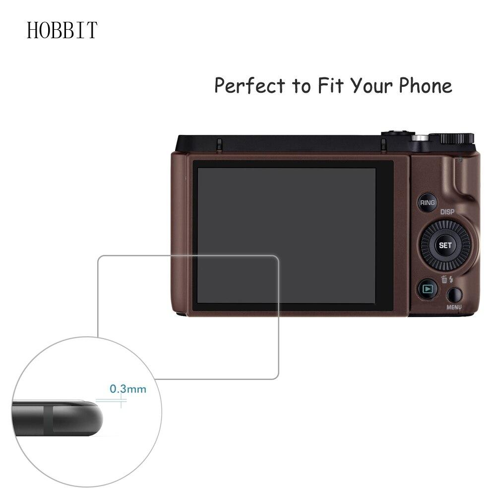 official photos 3e238 2e2a0 US $4.24 15% OFF|2Pack For Casio EX ZR1000 ZR1200 ZR1500 0.3mm 9H Clear  Tempered Glass Screen Protector Digital Camera Anti Scratch Film -in Camera  ...