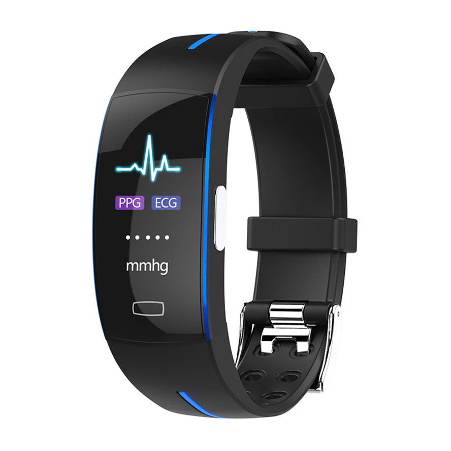 P3 Smart Band Support ECG PPG Blood Pressure Heart rate Monitoring waterpoof Pedometer Sports Fitness Bracelet