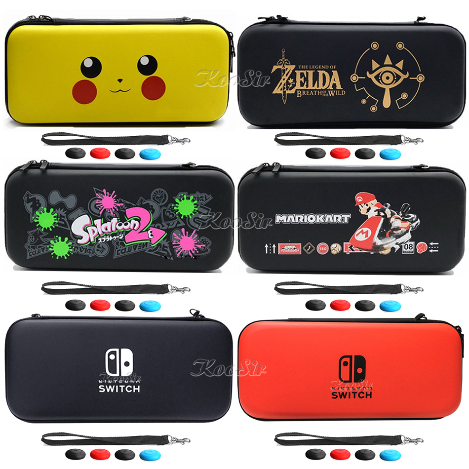 Nintend Switch Accessories  EVA Storage Hard Case Console Carrying Bag Nintendoswitch Portable Travel Cover For Nintendo Switch