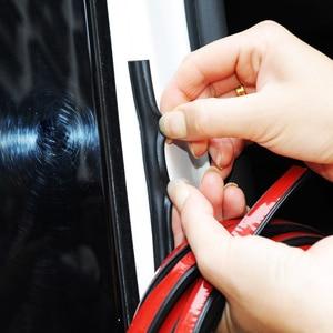 Image 3 - Uniwersalna uszczelka do drzwi samochodowych typu B izolacja hałasu uszczelka Auto uszczelki gumowe do izolacja akustyczna do samochodu