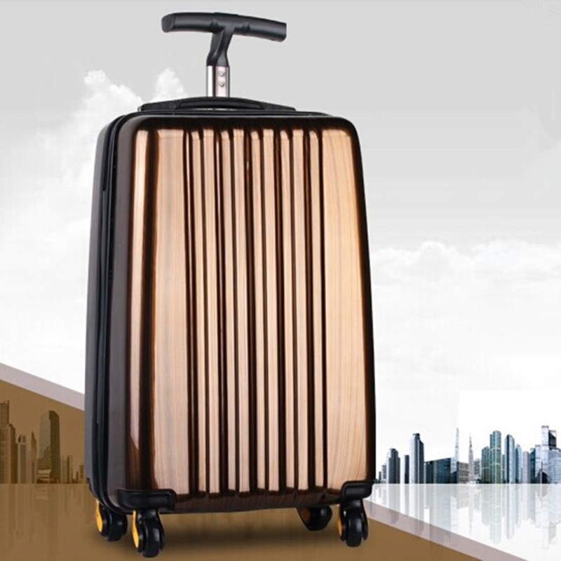 KUNDUI High Quality Business suitcase women men bags,ABS+PC universal wheels travel luggage trolley bag case,new style maletas color changeable led drink illuminated sphere flower pot waterproof led light ellipse champagne bucket cooler planter