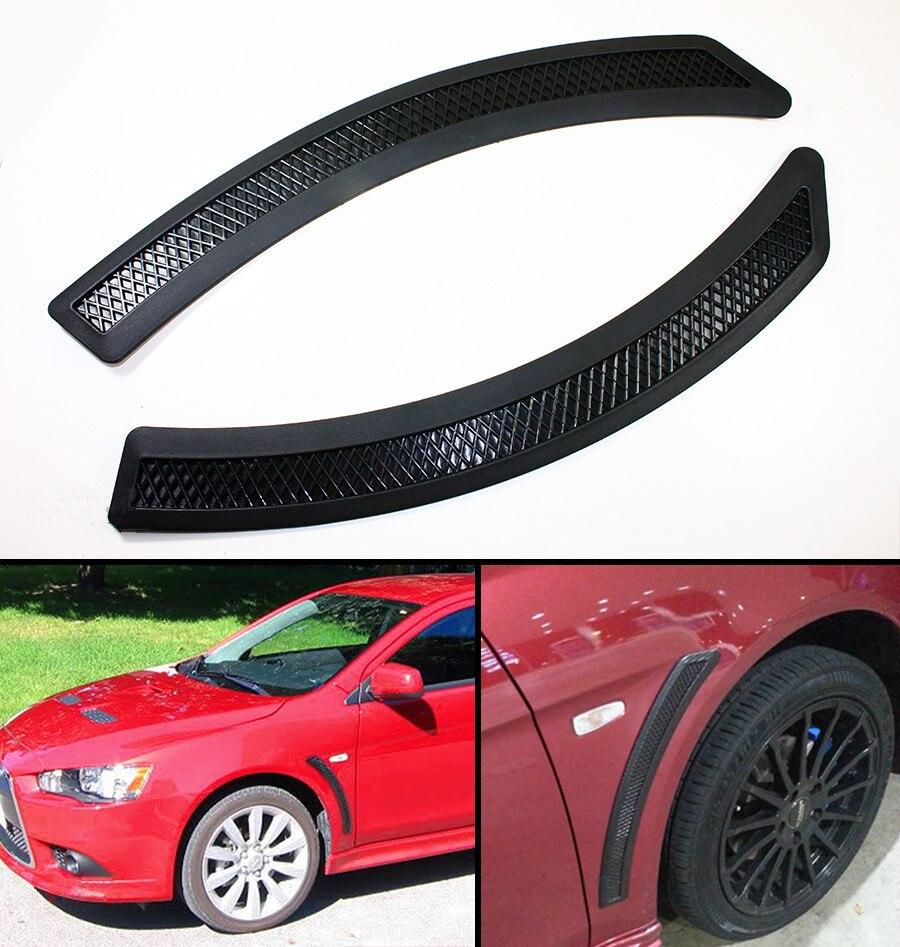 Evo 10 X Style Black Mesh Polyurethane frontal frontal frontal ventil - Accesorii interioare auto