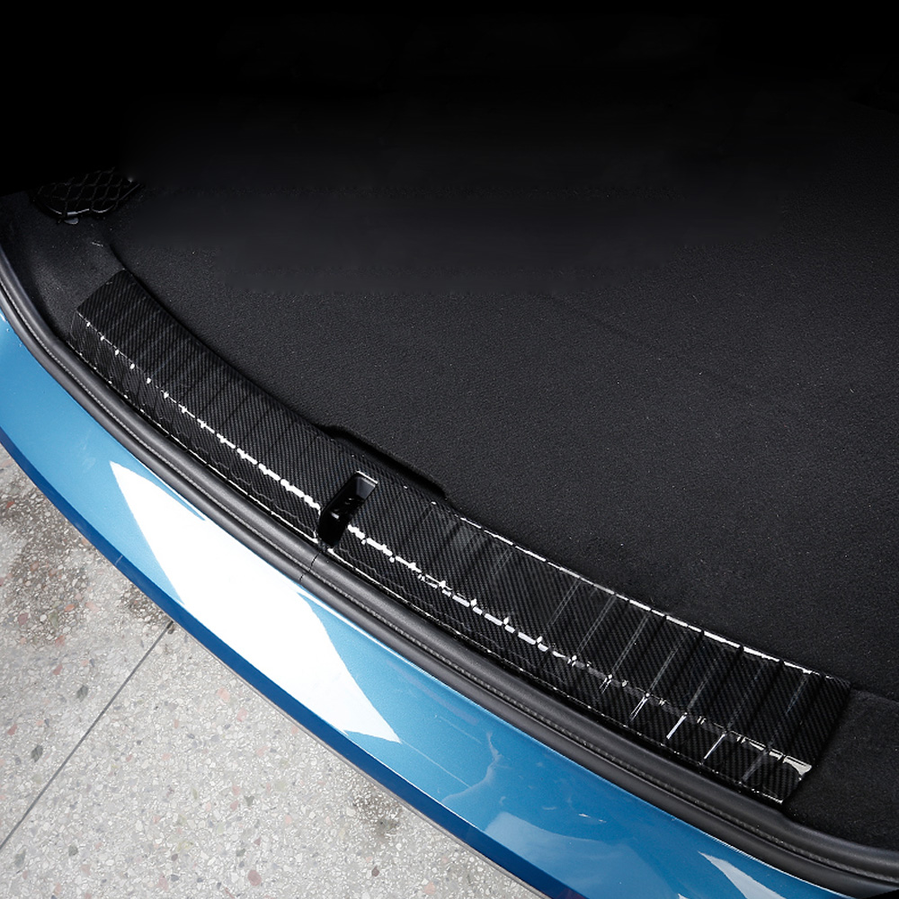 Car Rearguards Rear Bumper Trunk Inner Outer Sill Plate Protector Guard Trim Cover Sticker For BMW Mini Cooper Countryman F60 for nissan xterra paladin 2002 2017 rear trunk security shield cargo cover high quality car trunk shade security cover