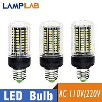 E14 LED SMD5736 220V Corn Bulb 10 Packs LED Light E27 LED Lamp Corn Bulb Chandelier Candle Home Decoration 32 56 72 88 130 LEDs