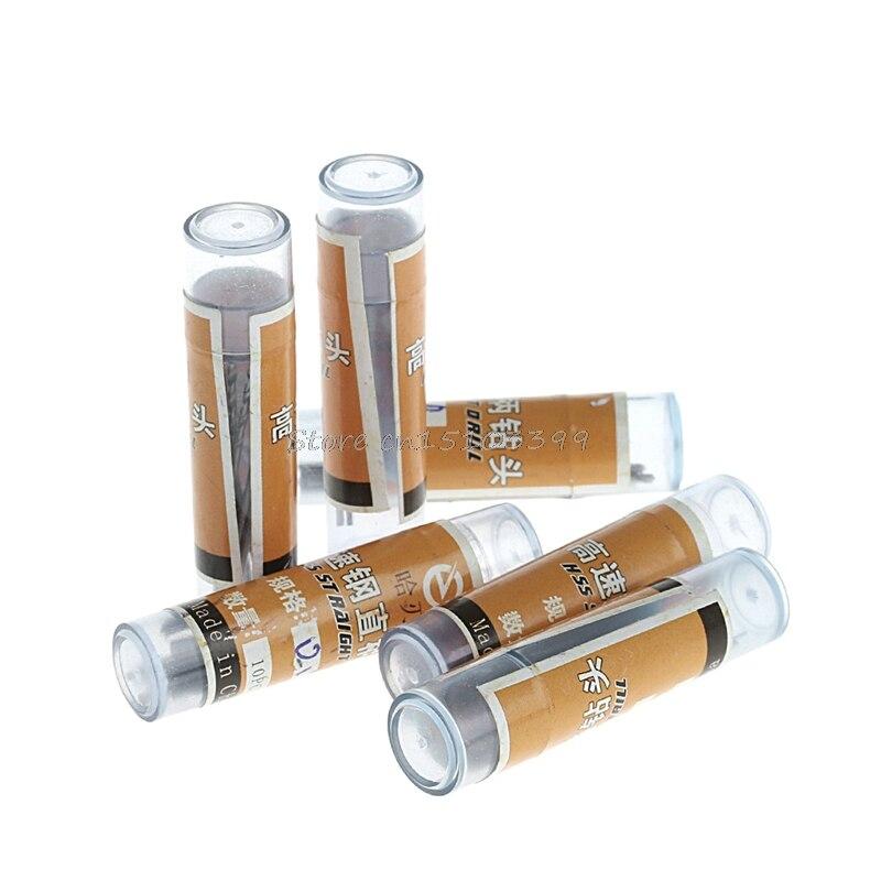 60Pcs 0.5-1.0mm Micro HSS Steel Twist Drill Bit Set Tool Shank #G205M# Best Quality high quality at the best price 10 unids set 0 5 3 2 mm drill bit collet micro small electric twist drill chuck
