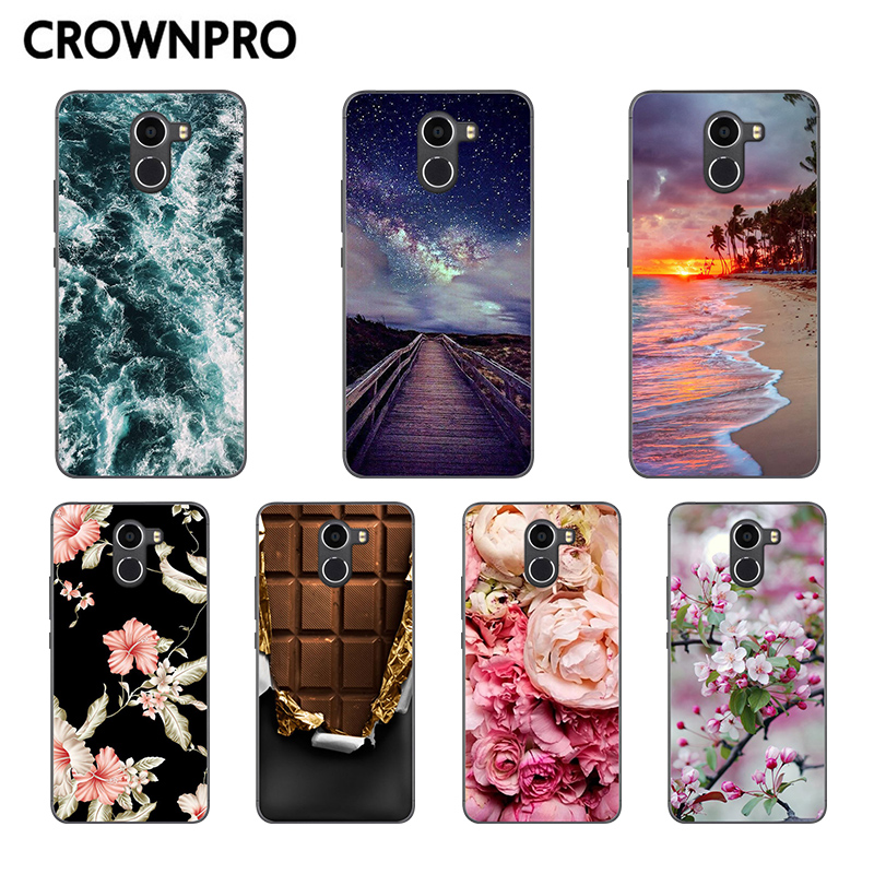 CROWNPRO Funda Wileyfox Swift 2 Plus Case Cover Silicone Wileyfox Swift 2 Phone Back Cover TPU Wileyfox Swift 2 Plus Protector