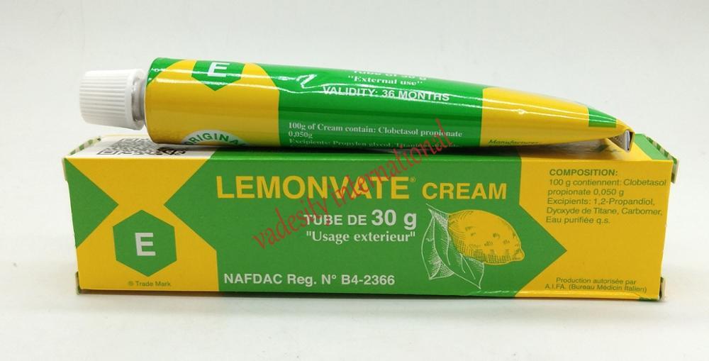 Lemonvate Brightening Tube Cream 30g