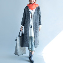 Autumn Winter New Women Basic Coats Large Size Classic Trench Coat for Women  Women Loose Wool Womens Coat Women Casaco Feminino