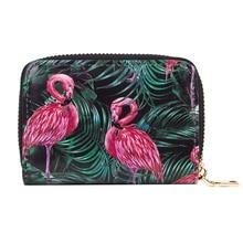 Artmi Fancy Damen Card Case Floral Design Kartenhalter gedruckt Kreditkarten Brieftaschen für Mädchen