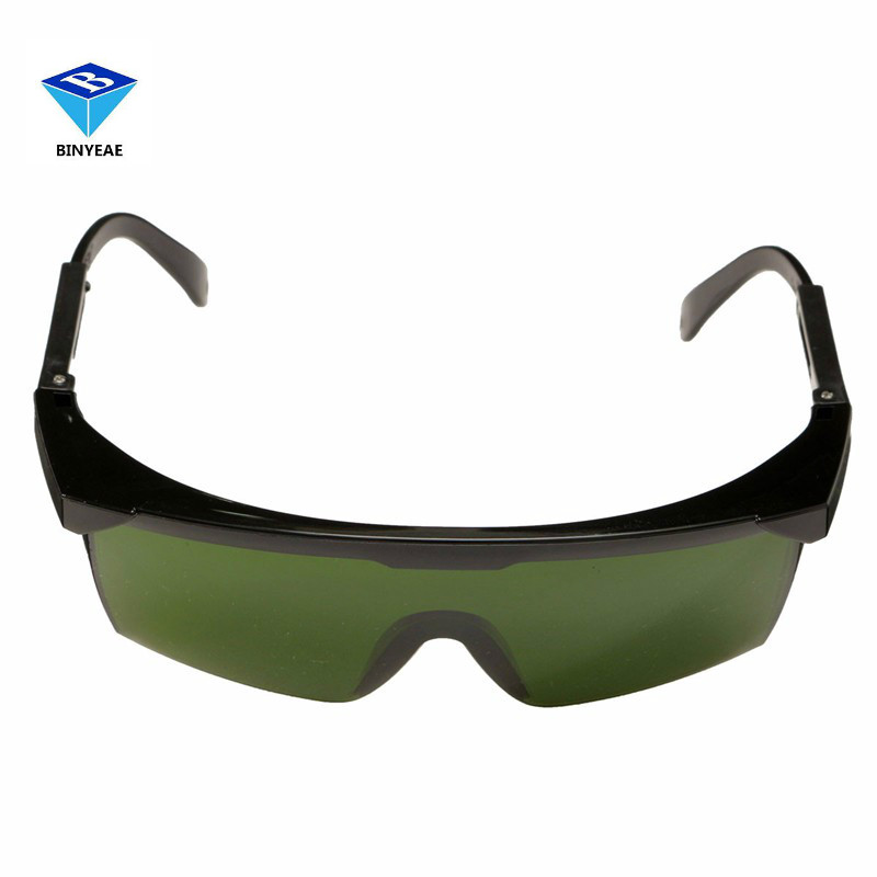 Durable 150x115mm PC Laser Protection Goggles Glasses 200nm-2000nm IPL-2 OD+4D For Variety Of Lasers laser protection goggles glasses for 808nm 810nm ir infrared lazer