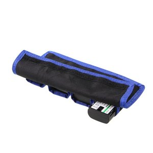 Image 5 - Meking Nylon batterie sac de rangement poches poche étanche avec 4 pochette pour LP E6/8/NP FW50 EN EL14/15