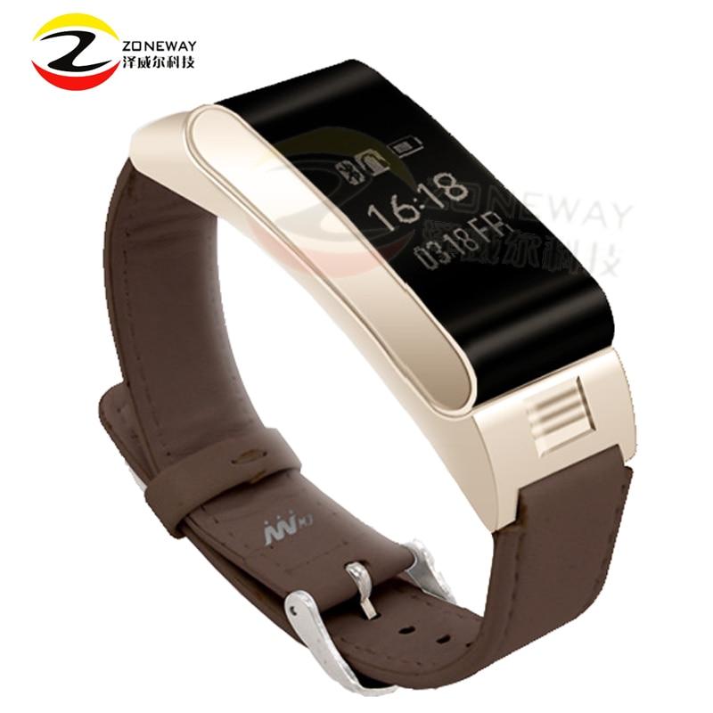 Hot Sale <font><b>A9</b></font> <font><b>Bluetooth</b></font> Headset Wristband fitness tracking smart watch Smart Bracelet Answer Call Sport Tracker For iphone samsung