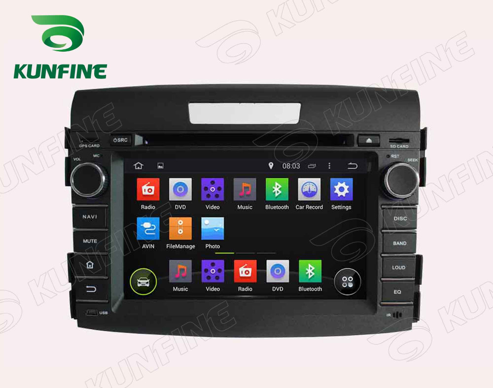 Car dvd GPS Navigation player for CRV 2012 7 inch A