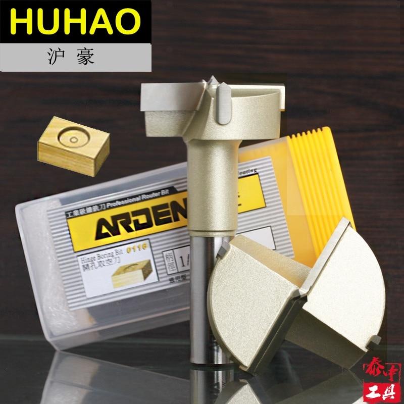 Holzbearbeitung Werkzeug Metric Scharnier Boring Arden Router Bit - 1/2*35mm - 1/2'' Schaft-Arden A0116338