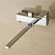 L16825 хромированная латунь отделка Материал настенный смеситель для кухни