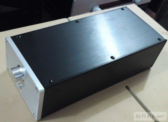 QUEENWAY Audio system 1409 CNC Full aluminum Case Chassis audio amplifier box 140mm*90mm*311mm 140*90*311mm 3206 amplifier aluminum rounded chassis preamplifier dac amp case decoder tube amp enclosure box 320 76 250mm