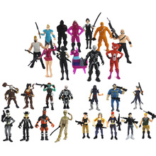 28pcs/lot Game Battle Royale PVC Characters Kids Collection Models Doll Fort night Action Figure Toys Boys Girl Gifts
