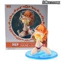 Uma Figura Pedaço Nami BB Ver. PVC Action Figure Collectible Modelo Toy Estatueta Nami One Piece Swimsuit Sexy One Piece Boneca